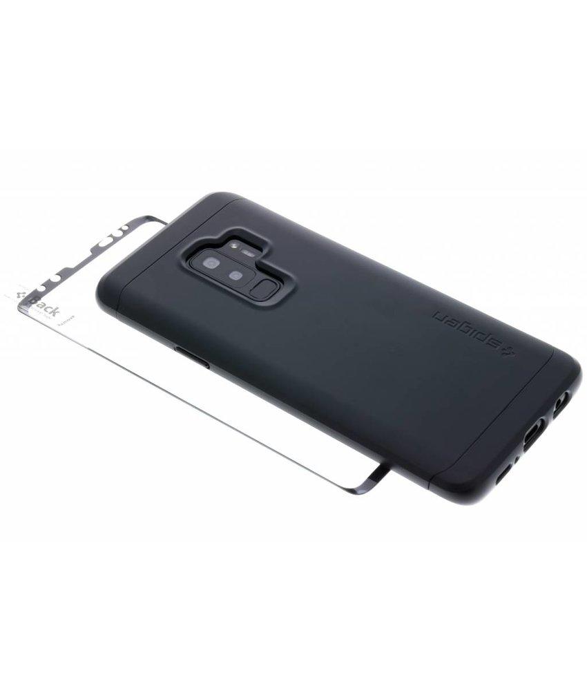 Spigen Zwart Thin Fit 360™ Hardcase Samsung Galaxy S9 Plus