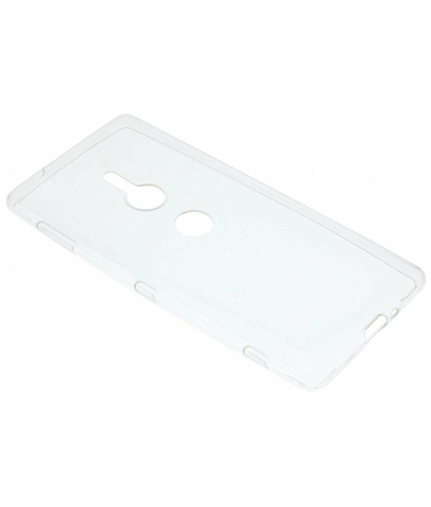 Ultra Thin Transparant Backcover Sony Xperia XZ2