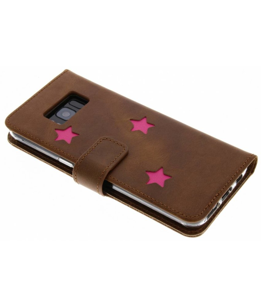 Fabienne Chapot Pink Reversed Star Booktype Samsung Galaxy S8