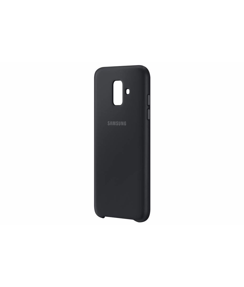 Samsung Zwart Dual Layer Cover Galaxy A6 (2018)