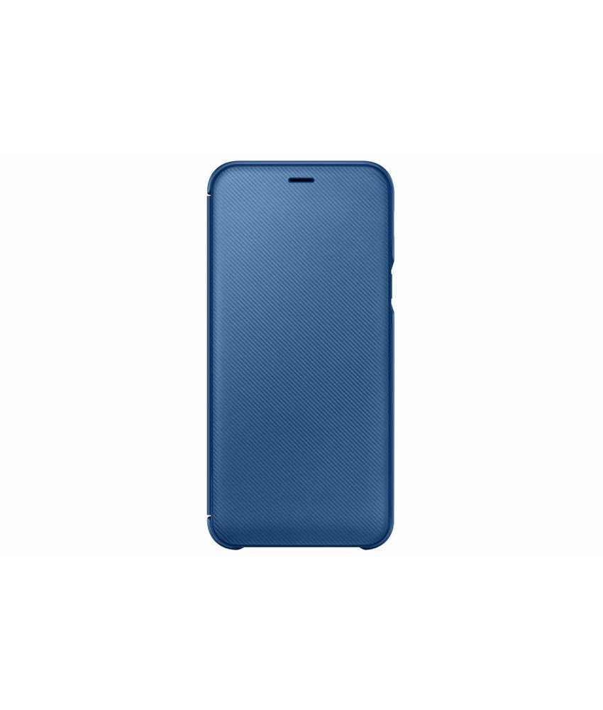 Samsung Blauw Wallet Cover Galaxy A6 (2018)