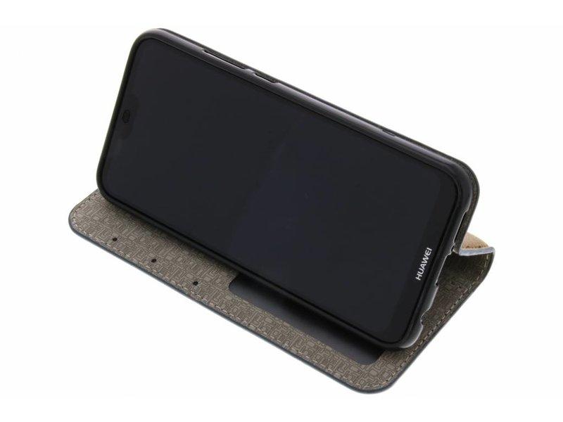 Huawei P20 Lite hoesje - Denim Booktype voor Huawei