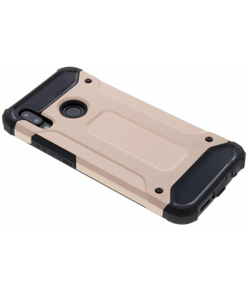 Rosé Goud Rugged Xtreme Case Huawei P20 Lite