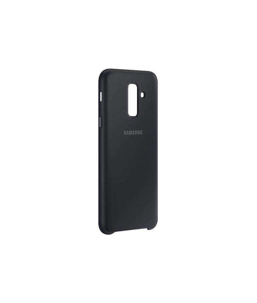 Samsung Zwart Dual Layer Cover Galaxy A6 Plus (2018)