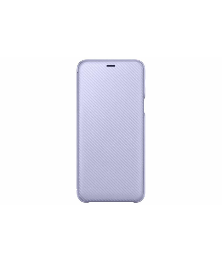 Samsung Paars Wallet Cover Galaxy A6 Plus (2018)