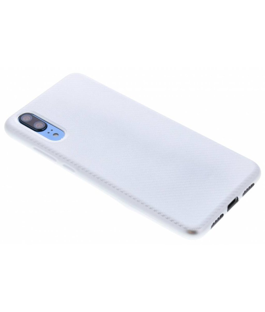 Carbon Softcase Backcover Huawei P20