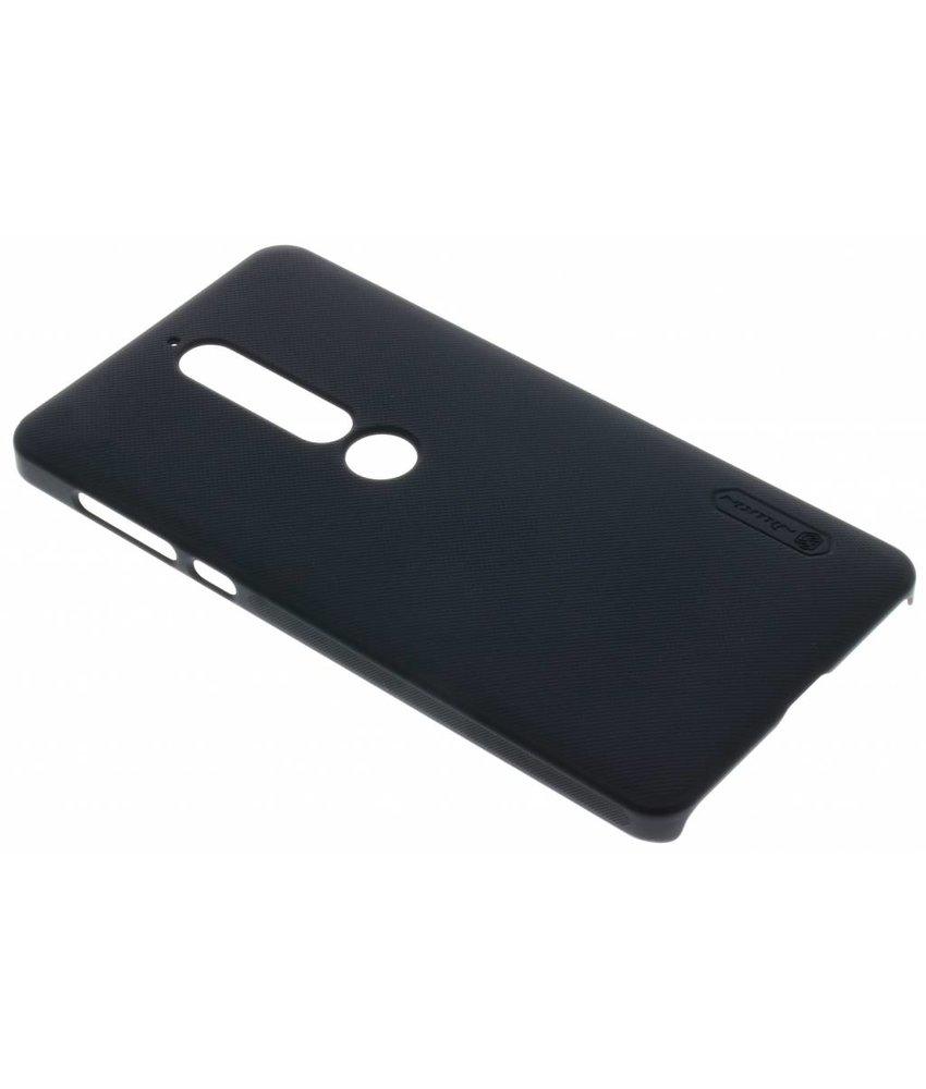 Nillkin Zwart Frosted Shield hardcase hoesje Nokia 6.1