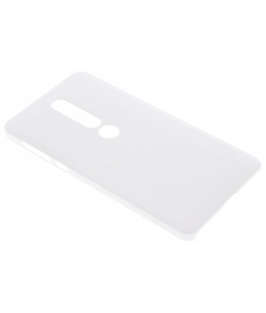 Nillkin Wit Frosted Shield hardcase hoesje Nokia 6.1