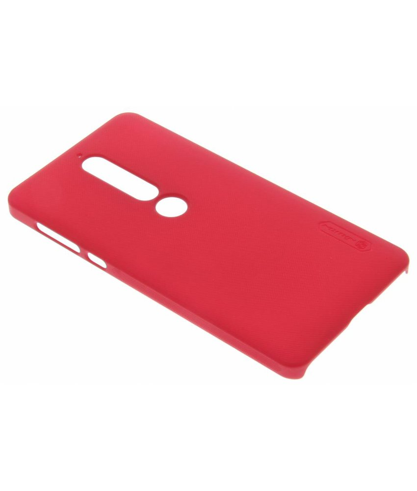 Nillkin Rood Frosted Shield hardcase hoesje Nokia 6.1