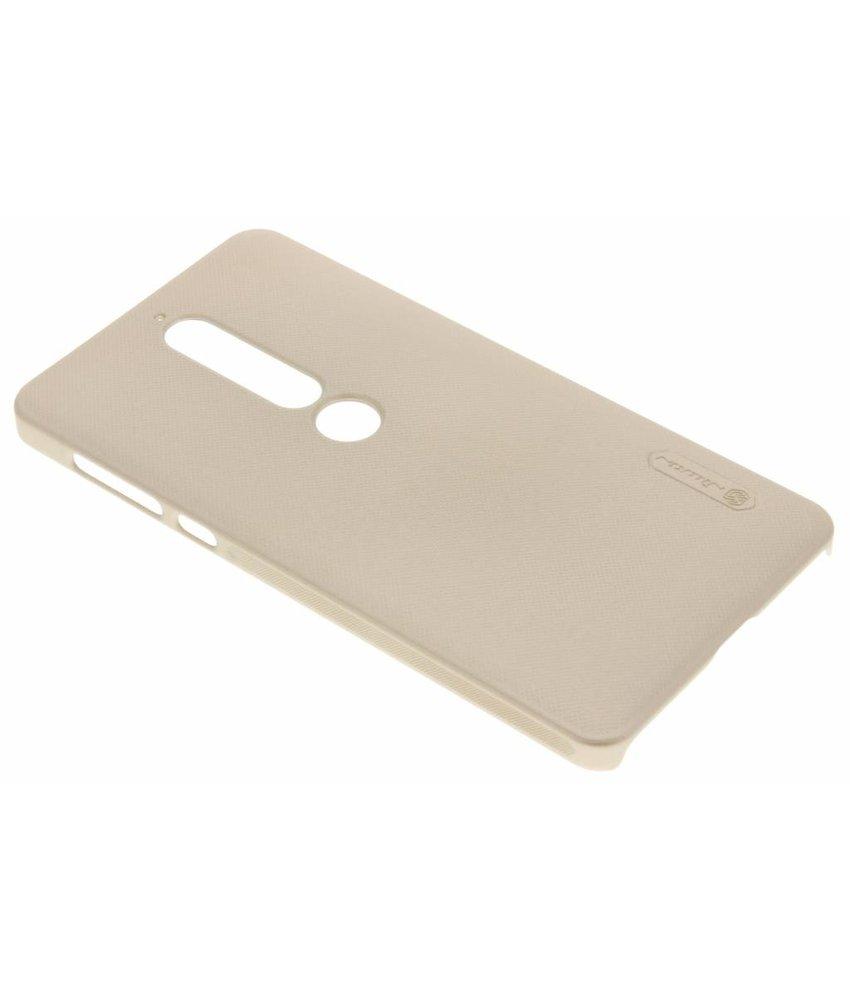 Nillkin Goud Frosted Shield hardcase hoesje Nokia 6.1