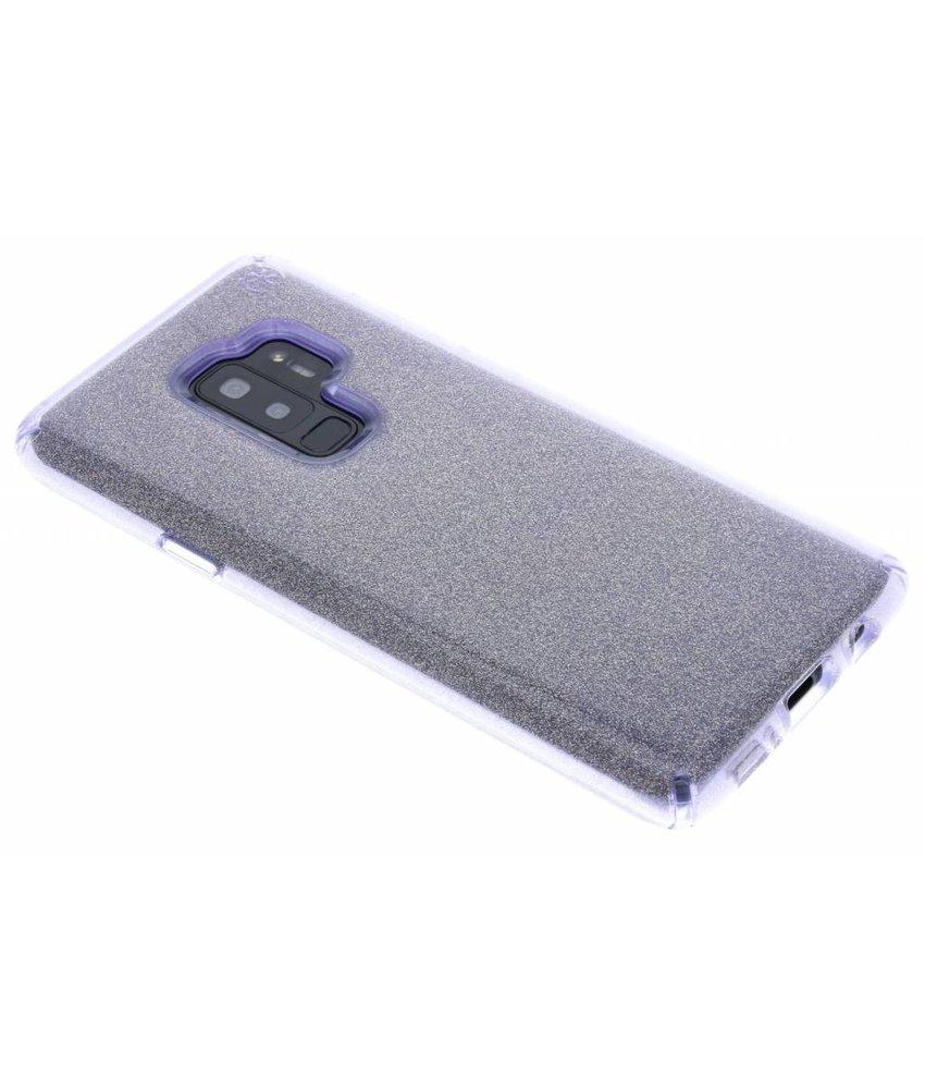 Speck Paars Presidio Clear + Glitter Samsung Galaxy S9 Plus