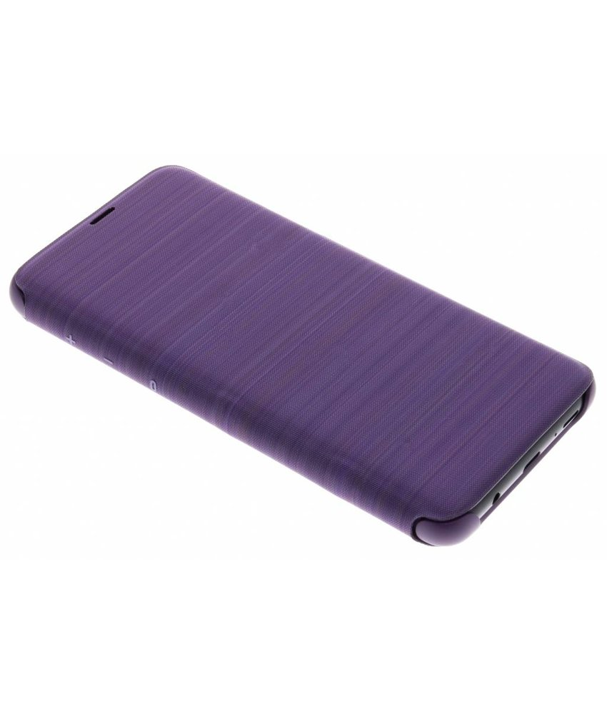 Samsung Paars originele LED View Cover Galaxy S9 Plus