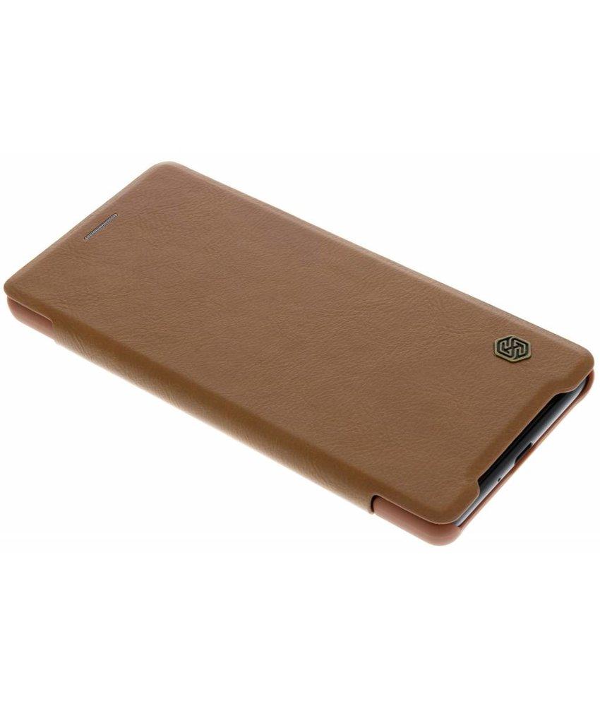 Type De Livre En Cuir Brun Qin Intelligent Pour Sony Xperia I2 Jv0lh26