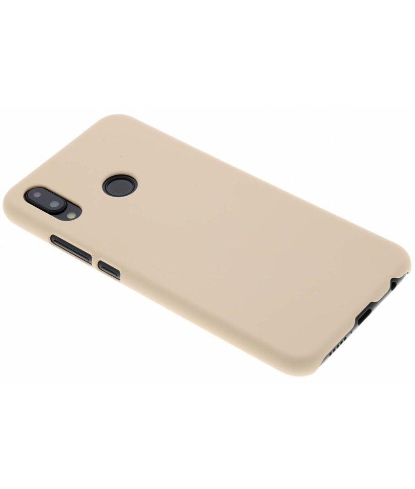 Poederroze pastel hardcase hoesje Huawei P20 Lite