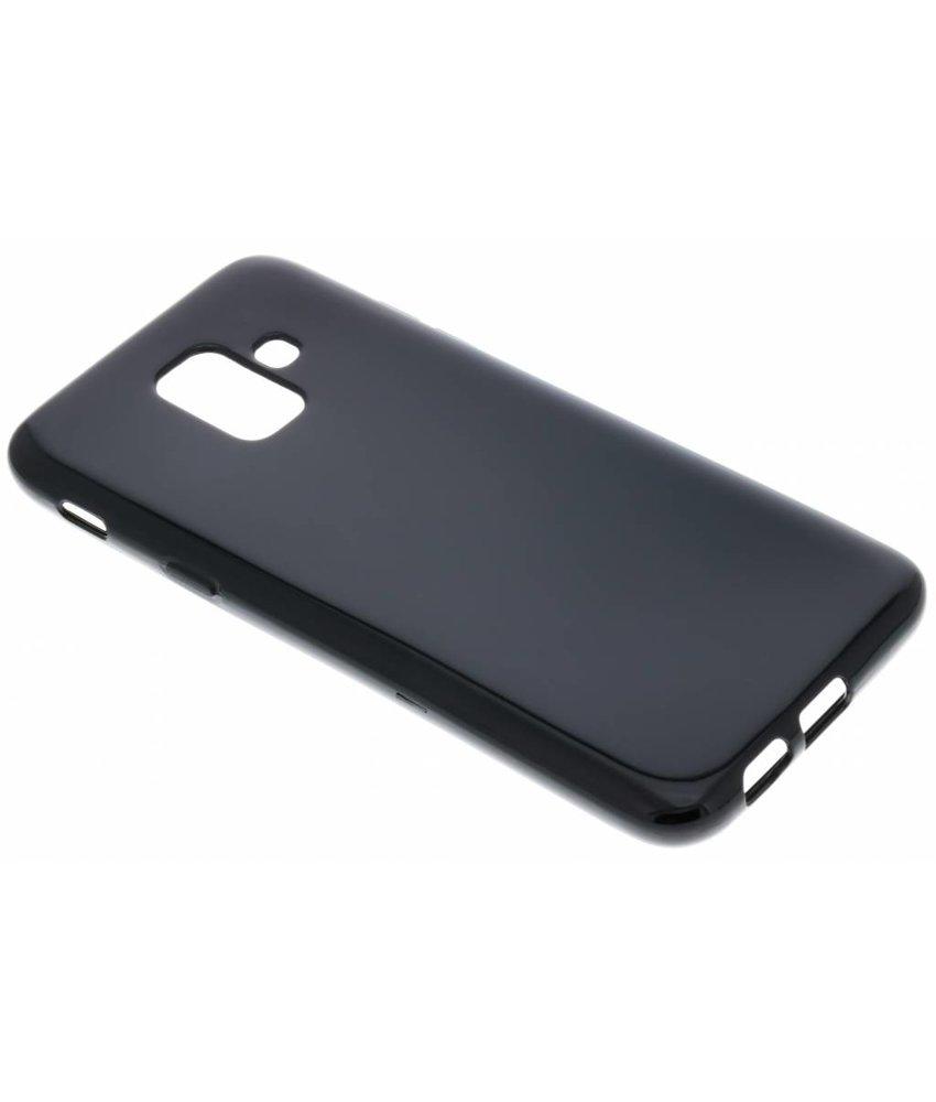 Zwart gel case Samsung Galaxy A6 (2018)