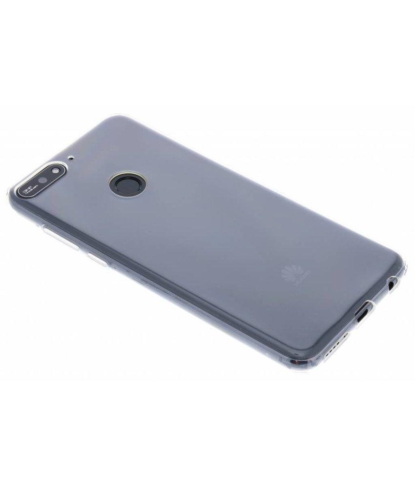 Huawei Transparant Soft Clear Case Y7 (2018)