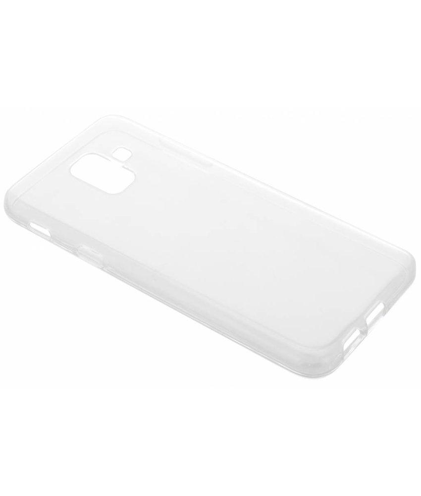 Transparant gel case Samsung Galaxy A6 (2018)