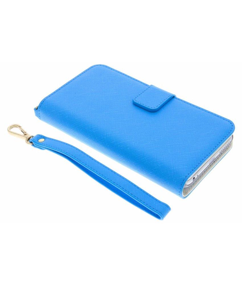 Selencia Blauw Wallet Case iPhone 8 Plus / 7 Plus