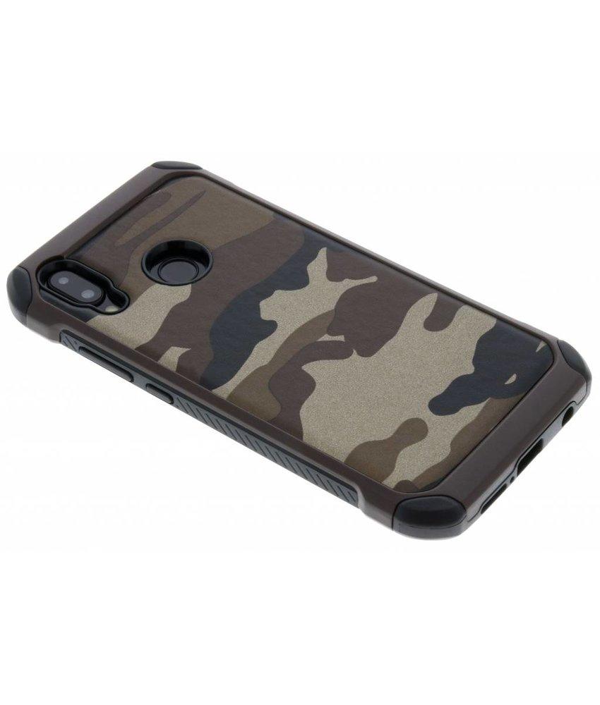 Bruin army defender hardcase hoesje Huawei P20 Lite