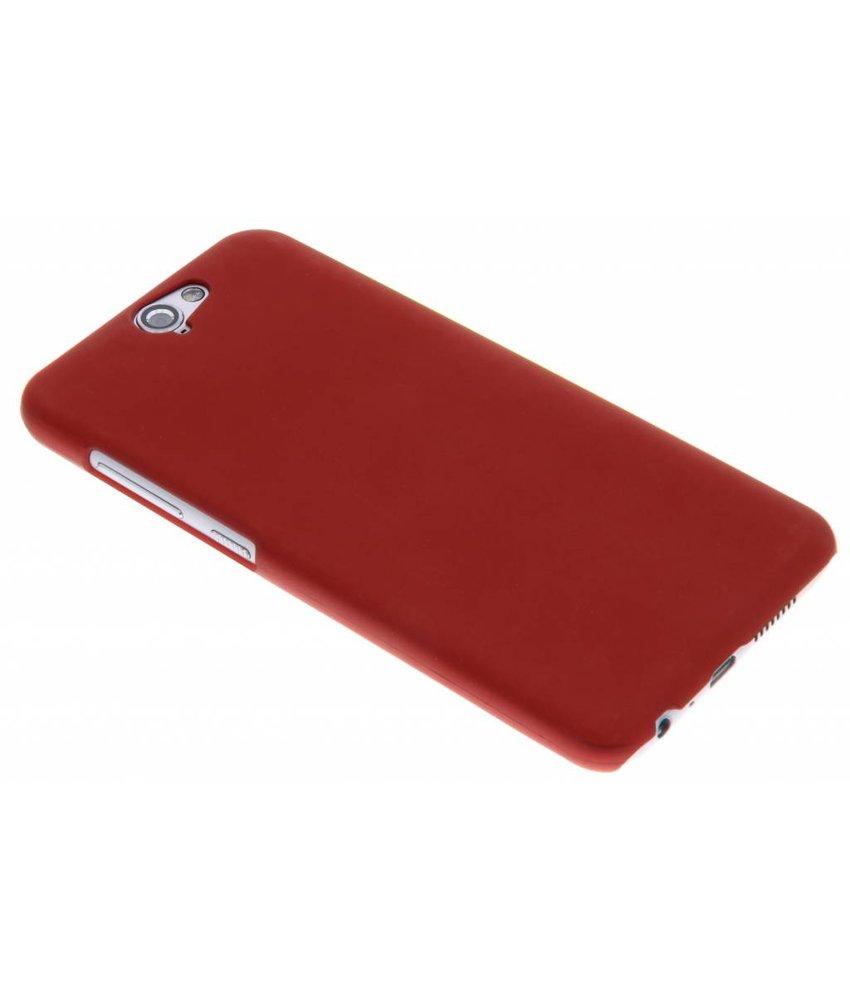 Rood effen hardcase hoesje HTC One A9