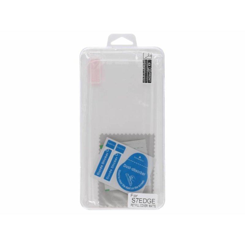 Anti-fingerprint screenprotector Samsung Galaxy S7 Edge