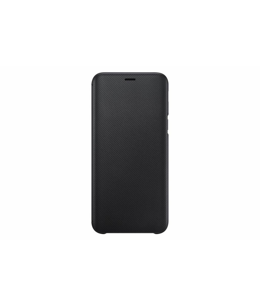 Samsung Zwart Wallet Cover Galaxy J6