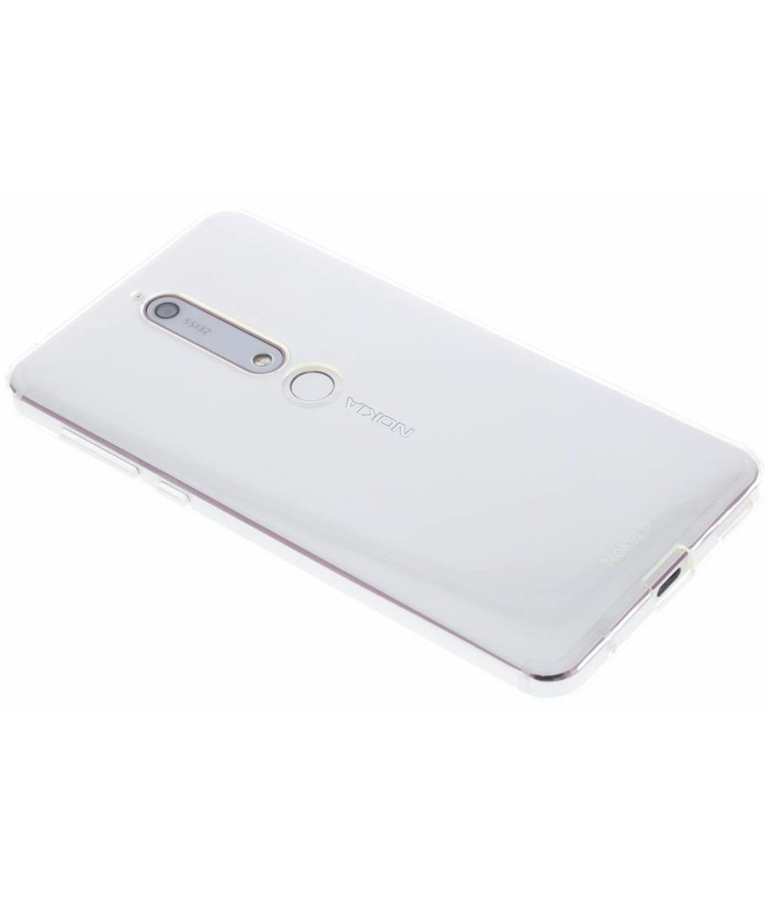 Nokia Slim Crystal Backcover Nokia 6.1
