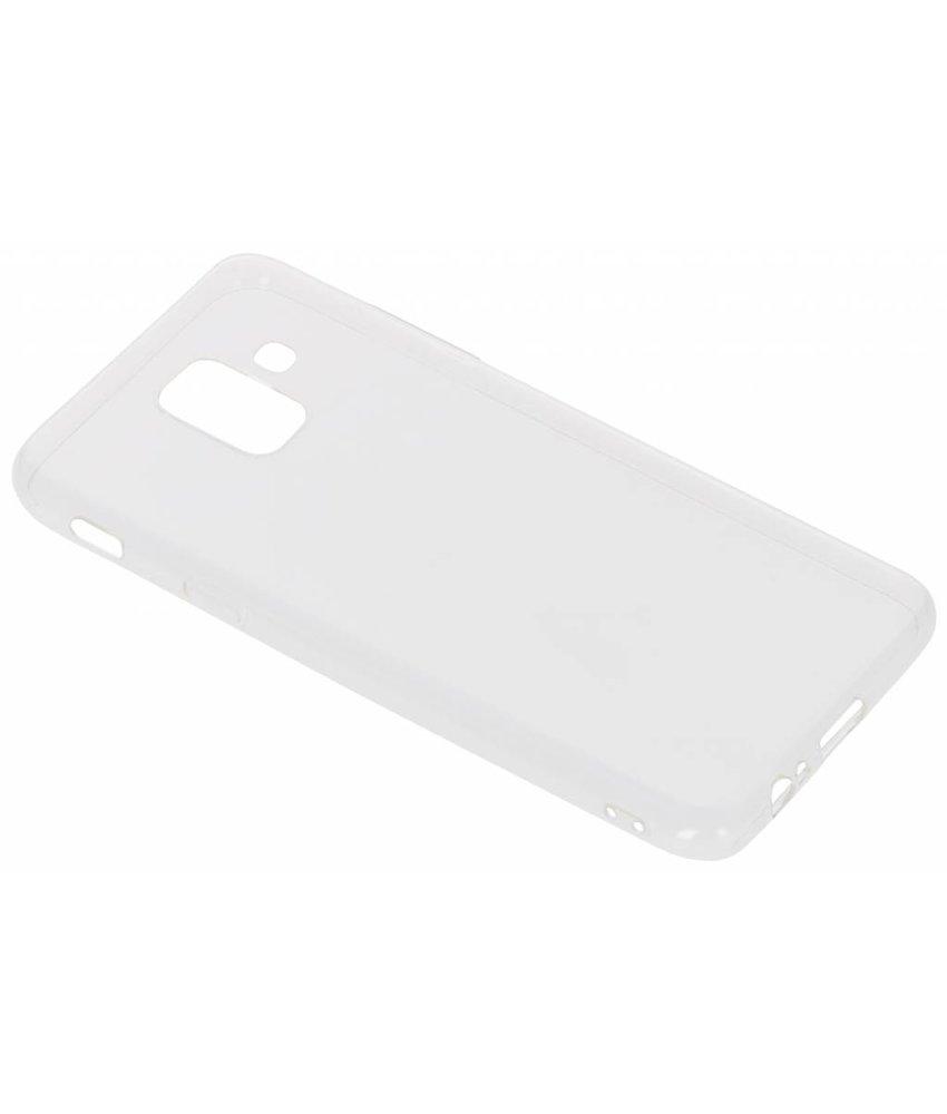 Ultra Thin Transparant Backcover Samsung Galaxy A6 (2018)