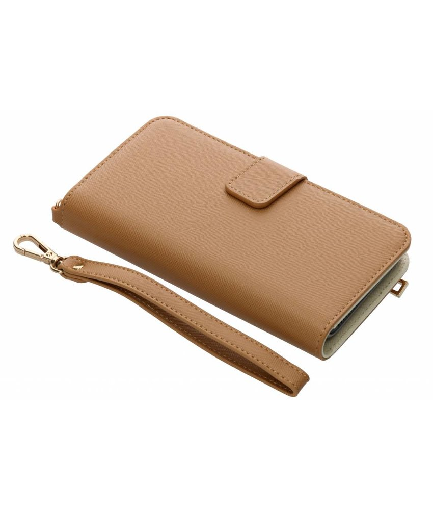 Selencia Bruin Wallet Case iPhone 8 Plus / 7 Plus