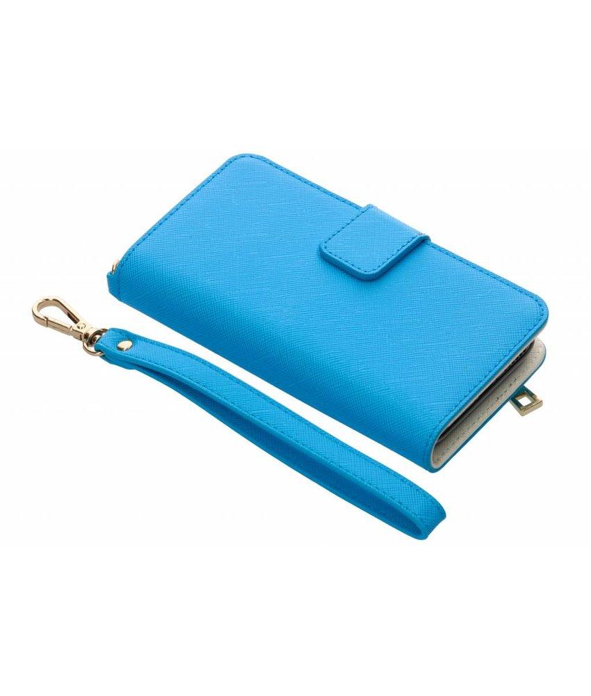 Selencia Blauw Wallet Case iPhone 8 / 7 / 6s / 6