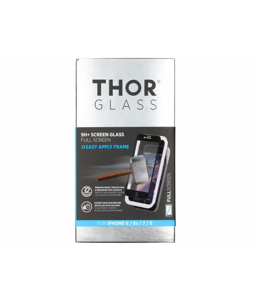 THOR Full Screen Protector + Easy Apply Frame iPhone 8 / 7 / 6(s)