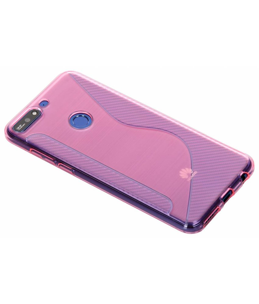 S-line Backcover Huawei Y7 (2018)