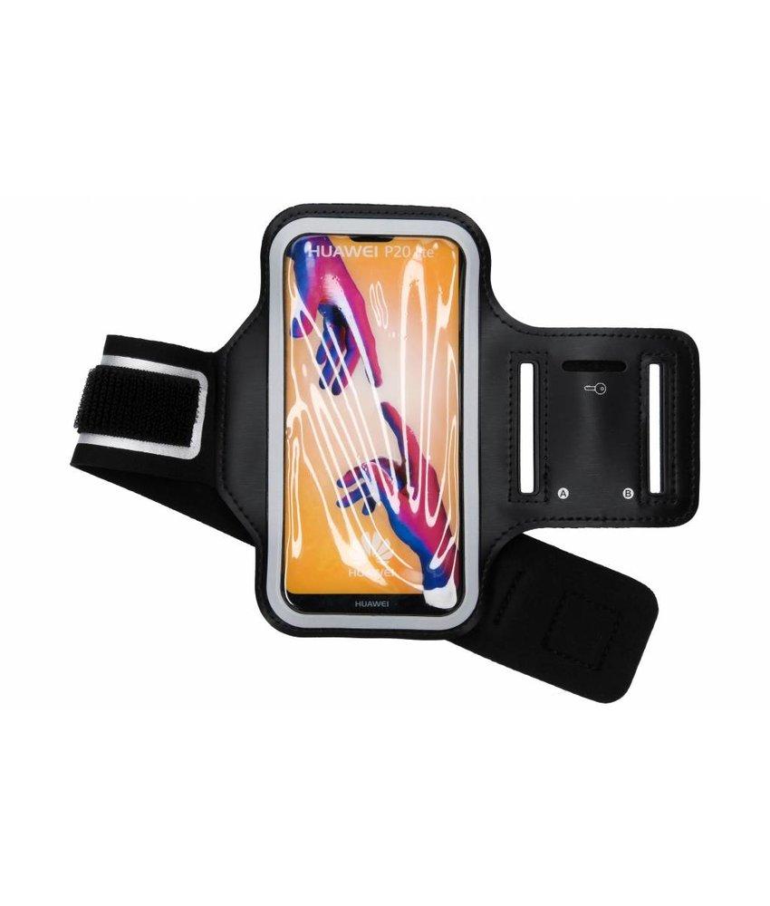 Zwart sportarmband Huawei P20 Lite
