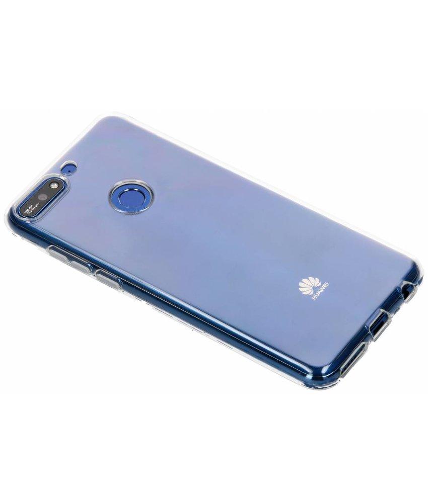 Transparant gel case Huawei Y7 (2018)