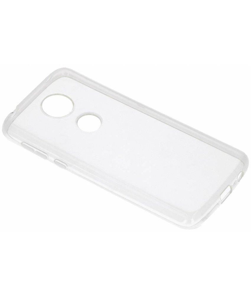 Transparant gel case Motorola Moto E5 Plus