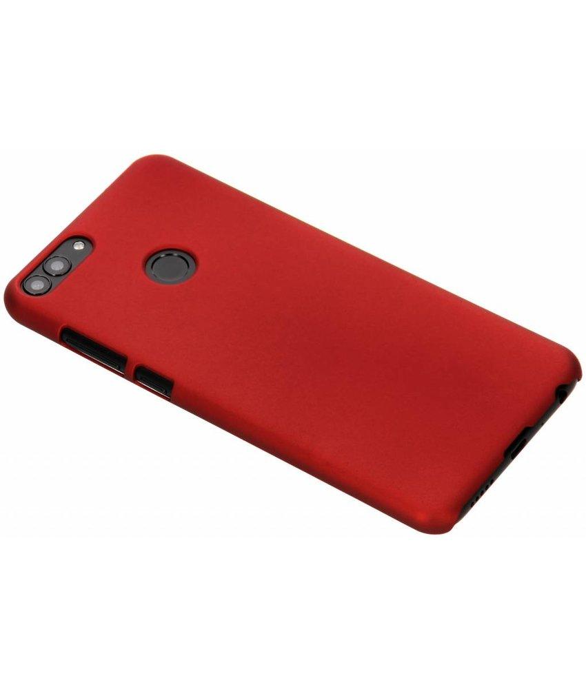 Rood effen hardcase hoesje Huawei P Smart