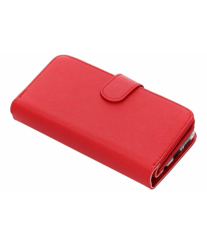 Selencia Saffiano 9 slots portemonnee hoes Huawei P20 Lite