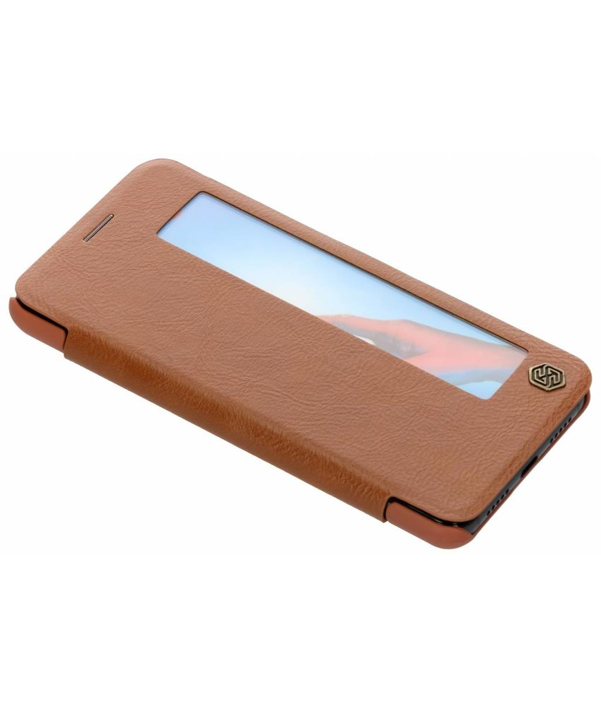 Nillkin Bruin Qin Leather Case Huawei P20