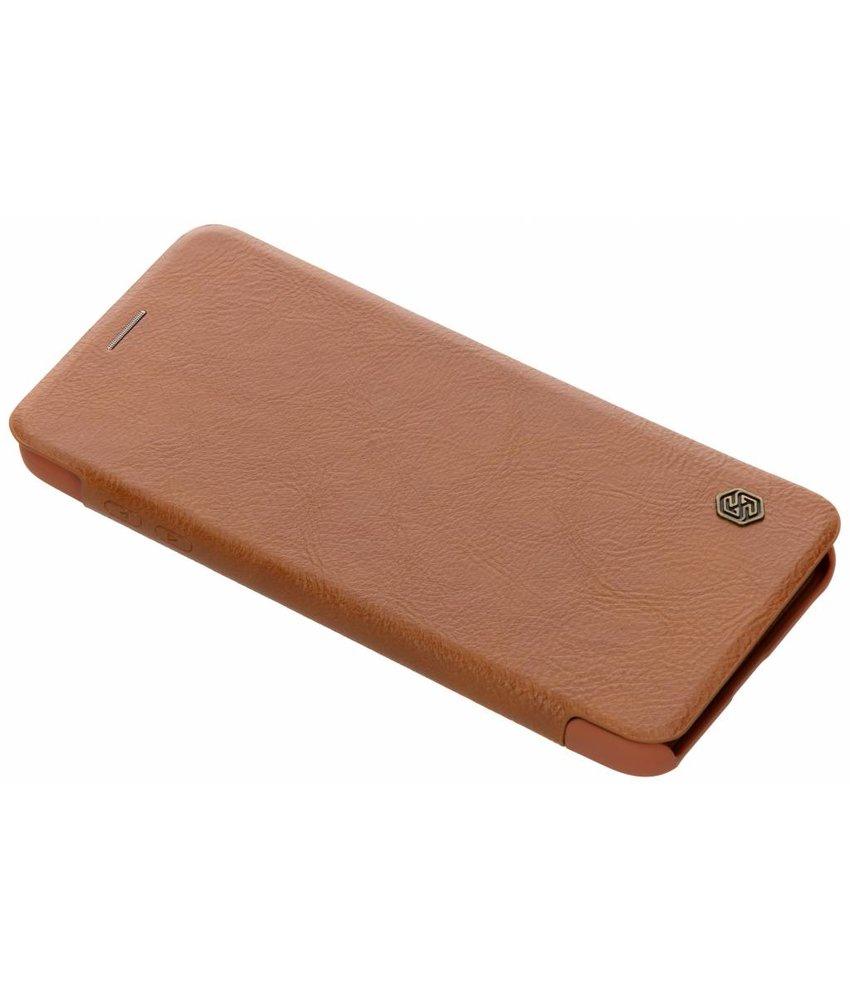 Nillkin Qin Leather Slim Booktype Samsung Galaxy A6 Plus (2018)