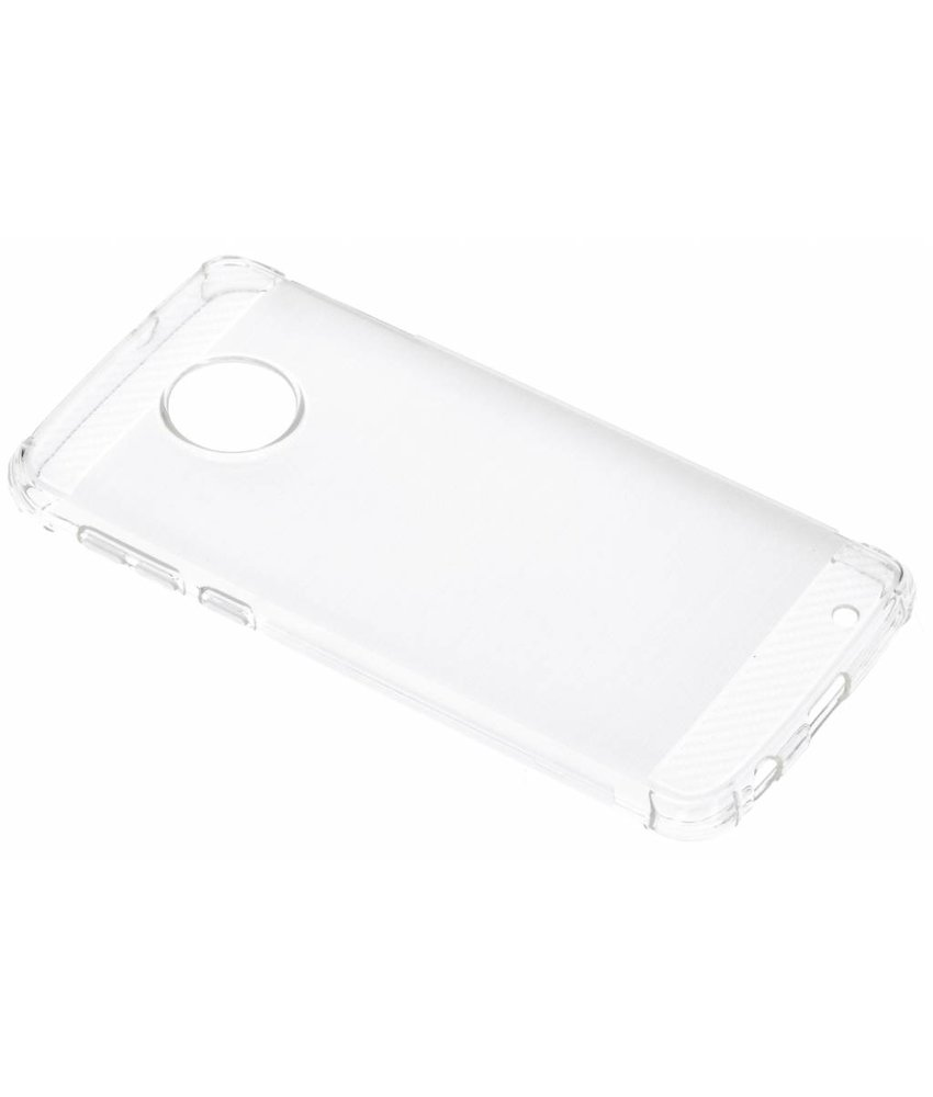 Transparant Xtreme siliconen hoesje Motorola Moto G6 Plus