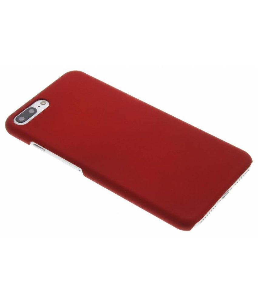 Rood effen hardcase hoesje iPhone 8 Plus / 7 Plus