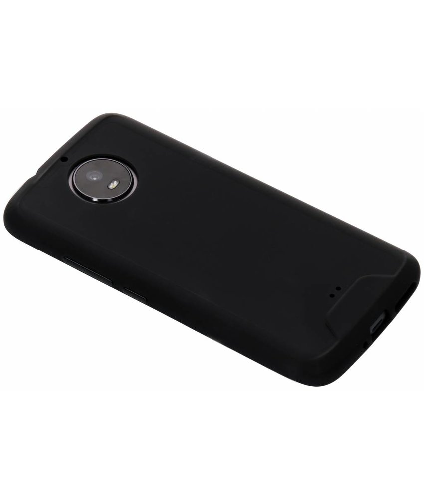 Zwart Slim extra protect case Motorola Moto G5S
