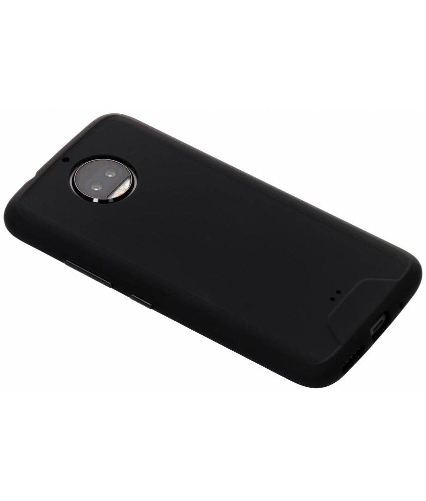 Zwart Slim extra protect case Motorola Moto G5S Plus