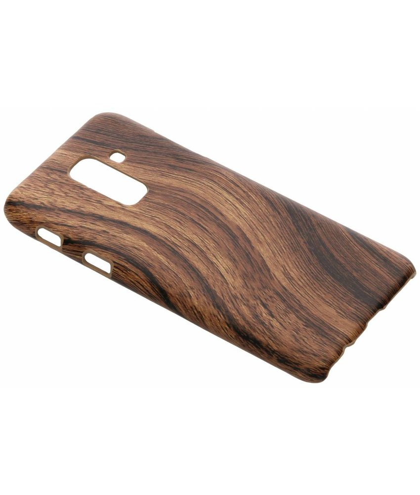 Hout Design Backcover Samsung Galaxy A6 Plus (2018)