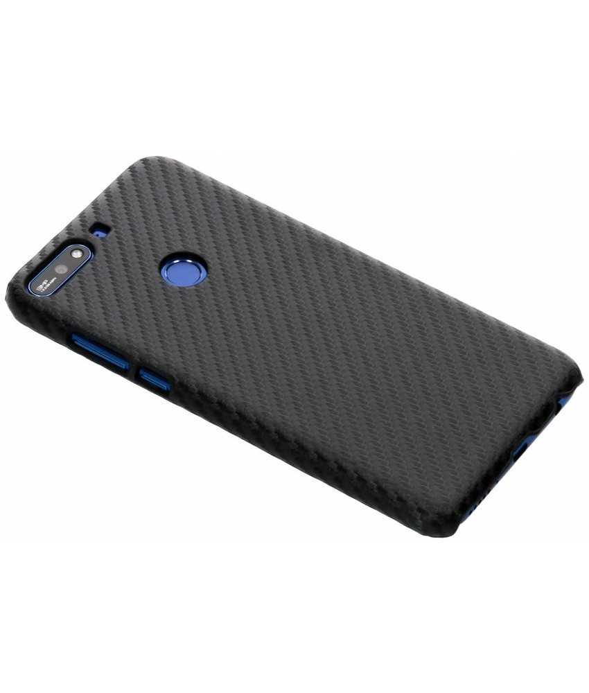 Carbon Hardcase Backcover Huawei Y7 (2018)