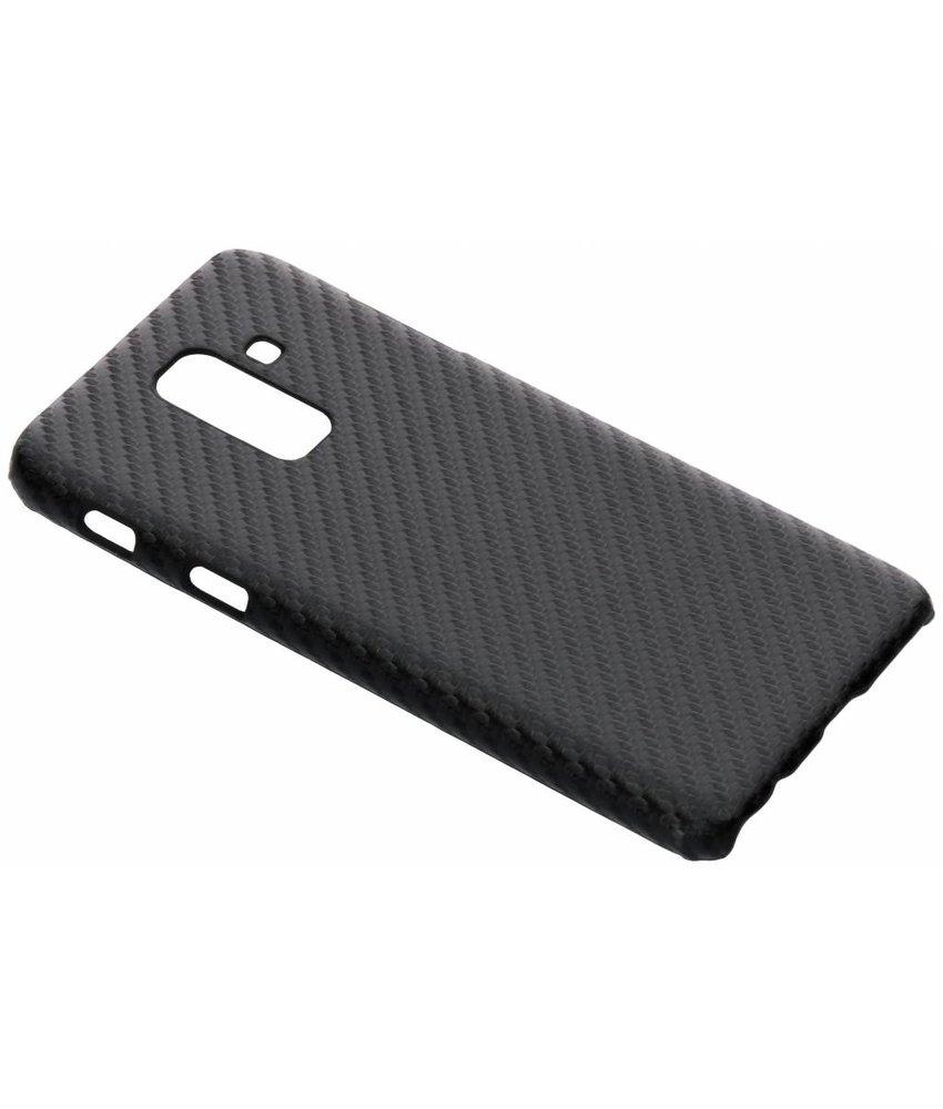 Carbon Hardcase Backcover Samsung Galaxy A6 Plus (2018)