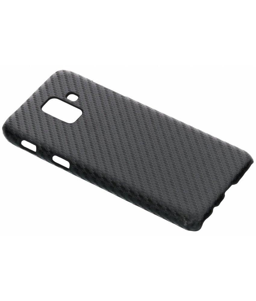 Carbon look hardcase hoesje Samsung Galaxy A6 (2018)