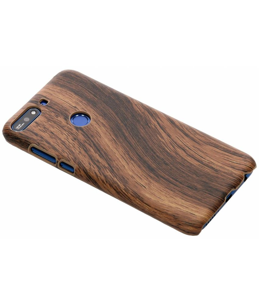 Hout Design Backcover Huawei Y7 (2018)