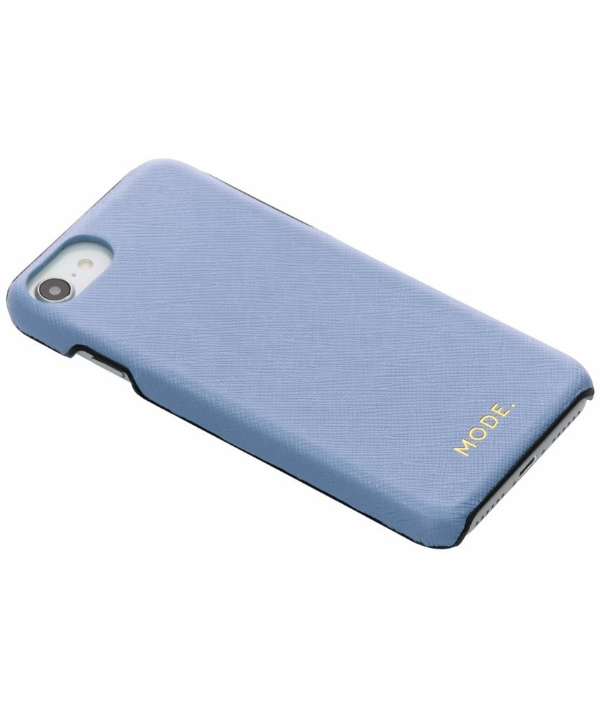 dbramante1928 Blauw London Leather Snap-On Case iPhone 8 / 7 / 6 / 6s