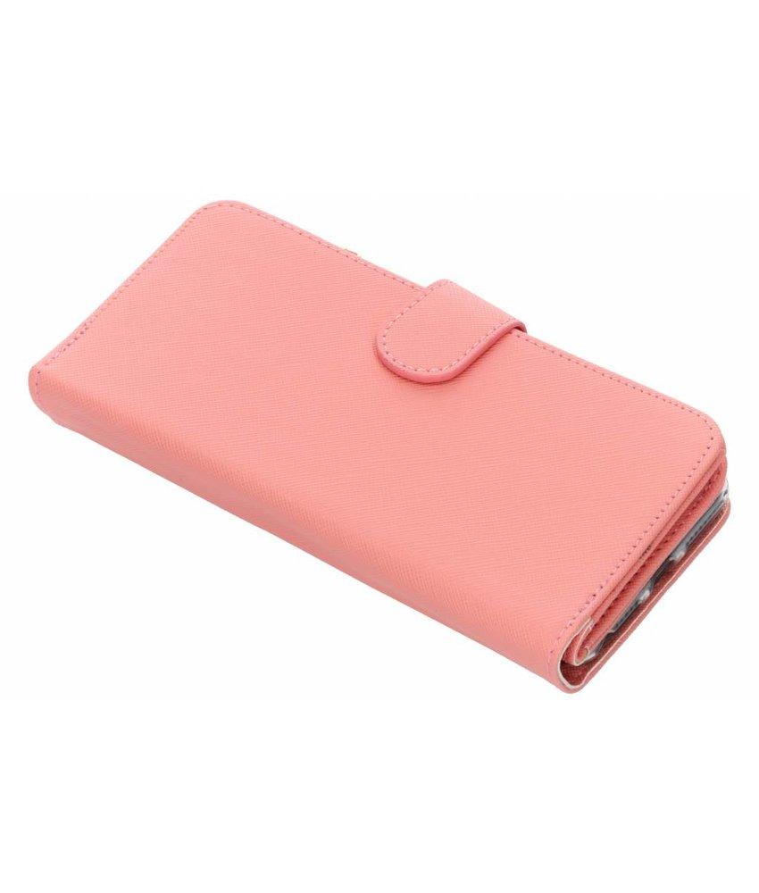 Selencia Saffiano portemonnee hoes iPhone 8 Plus / 7 Plus / 6(s) Plus